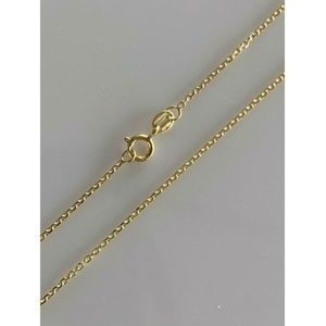 HarlemBling Real 14k Gold Cable Chain Necklace